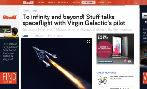 Virgin Galactic for Stuff.tv