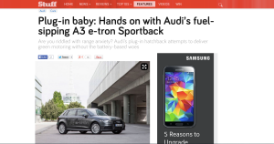 Audi e-tron first drive review Stuff.tv
