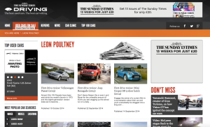 Sunday Times Driving contributor page
