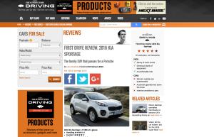 Car reviews Driving.co.uk