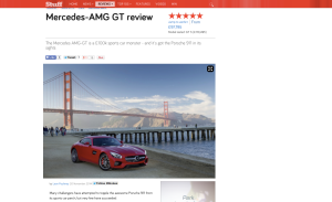 Mercedes AMG GT review