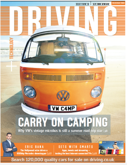 Carry on camping for ST Driving