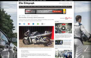 Diesel Bikes for The Telegraph