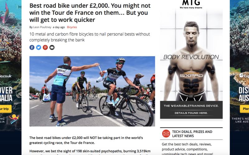 Pro cycling gear